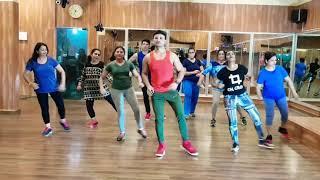ZUMBA  - Yeh Zameen ga rahi hai song / suresh fitness center  nerul new Mumbai