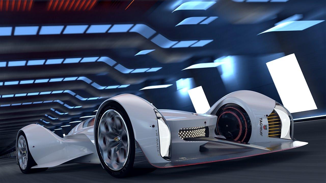 Mercedes-Benz Samsara Virtual Reality Race Car Concept - YouTube