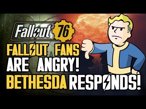 Fallout Fans Are ANGRY About Fallout 76! Bethesda Responds About Lack of PVE Servers and More thumbnail