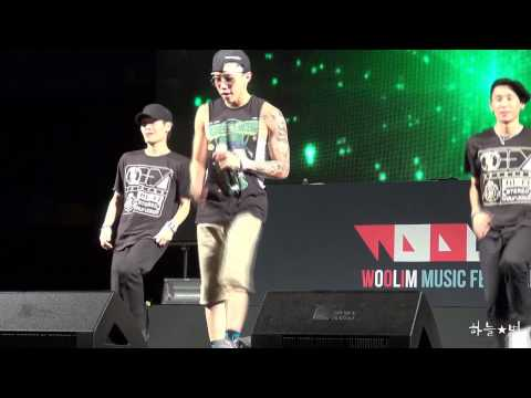 120803 Jay Park - Body2Body @PoHang Woolim Music Festival