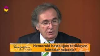 Prof.  Dr.  Saraçoğlu hemoroid hastalığına karşı geliştirdiği doğal kürü anlatıyor...