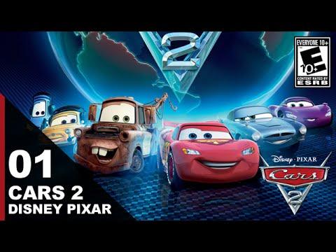 Cars 2: The Video Game (Disney Pixar) - Walkthrough Gameplay - Episode 1: Lightning McQueen