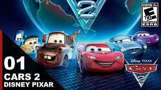 Cars 2: The Video Game (Disney Pixar) - Walkthrough Gameplay - Episode 1: Lightning McQueen