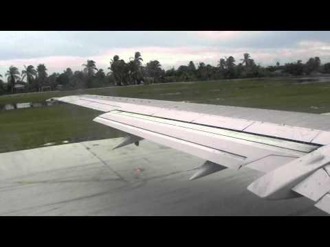 Cayman Airways Landing in Grand Cayman