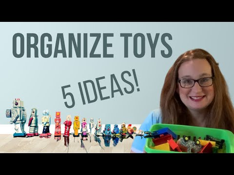 How to Organize Toys (5 Ideas for Minimalist Toy Organization)