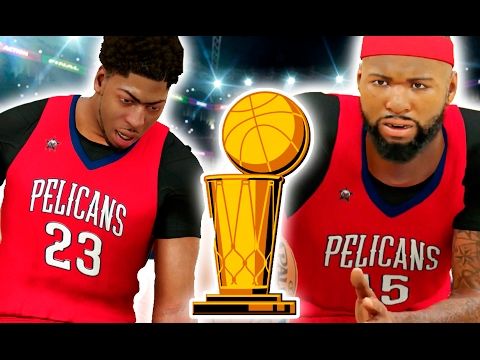 Will The Pelicans Win A NBA Championship With Cousins And Davis? NBA 2K17 Challenge