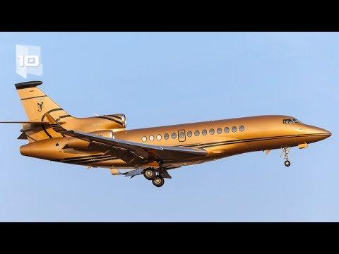 10 Aviones privados más caros