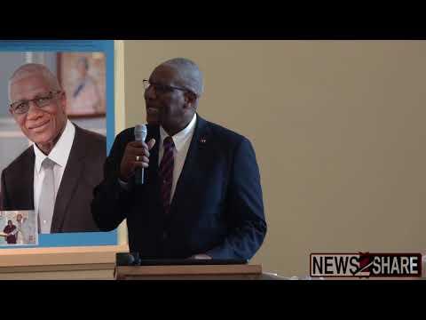 Governor-General of Antigua and Barbuda Talks Hurricane Irma, Healthcare