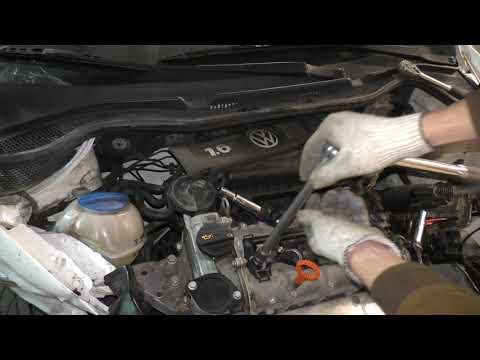 VW Polo Sedan, Jetta, Skoda Rapid - Замена свечей зажигания 1,6 CFNA