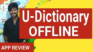 How to translate from English to almost Any Language Offline inside any app | U-Dictionary""