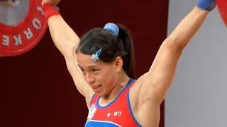 2013 World Weightlifting Championships, Women 58 kg \ Тяжелая Атлетика. Чемпионат Мира