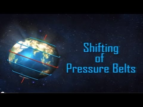 Shifting of Pressure Belts - Geography Video | Iken Edu