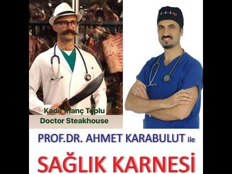 KALP HASTALARI GÜNLÜK NE KADAR ET TÜKETMELİ? - PROF DR AHMET KARABULUT - DOCTOR STEAKHOUSE