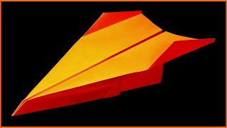 How to make a Paper Airplane that Flies Far - Easy Origami for Beginners | Tresh
