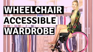 ♿️MY WHEELCHAIR ACCESSIBLE WARDROBE TOUR | Why I have a capsual Wardrobe
