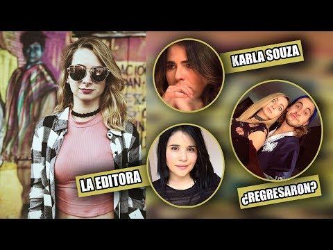 Yosstop opina sobre Karla Souza, Sarah su ex-editora la critica y... ¿Regresa con su novio?