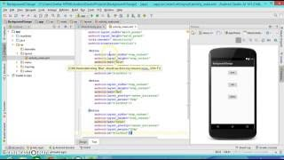 Android Programming tutorial2 background change on button click event