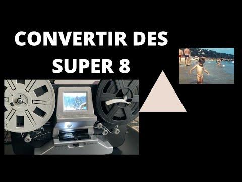 VINTAGE : Convertir des films Super 8 en .mp4 . Convertisseur MERSOCO