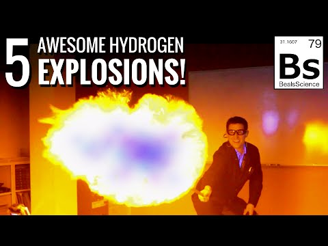 5 Awesome Hydrogen Explosions!