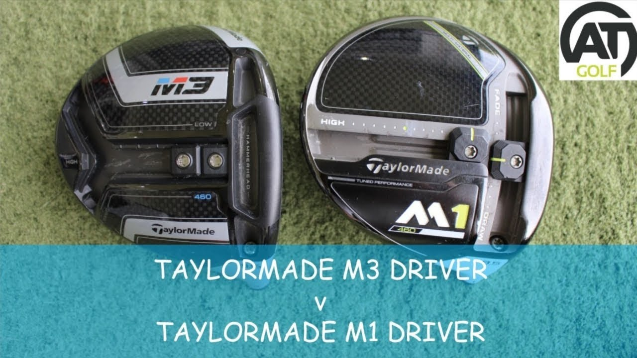 m1 vs m2 driver spin