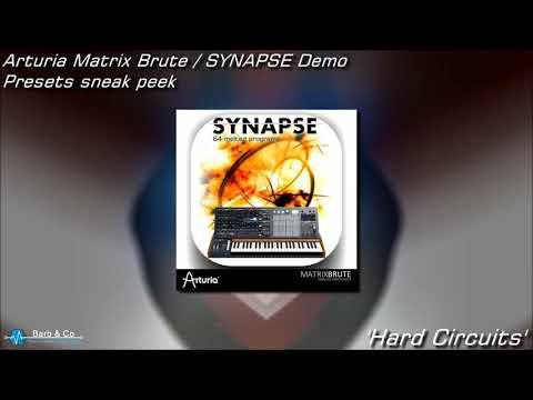 Arturia MatrixBrute Synapse Demo