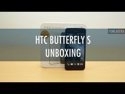 HTC Butterfly S Unboxing and Overview