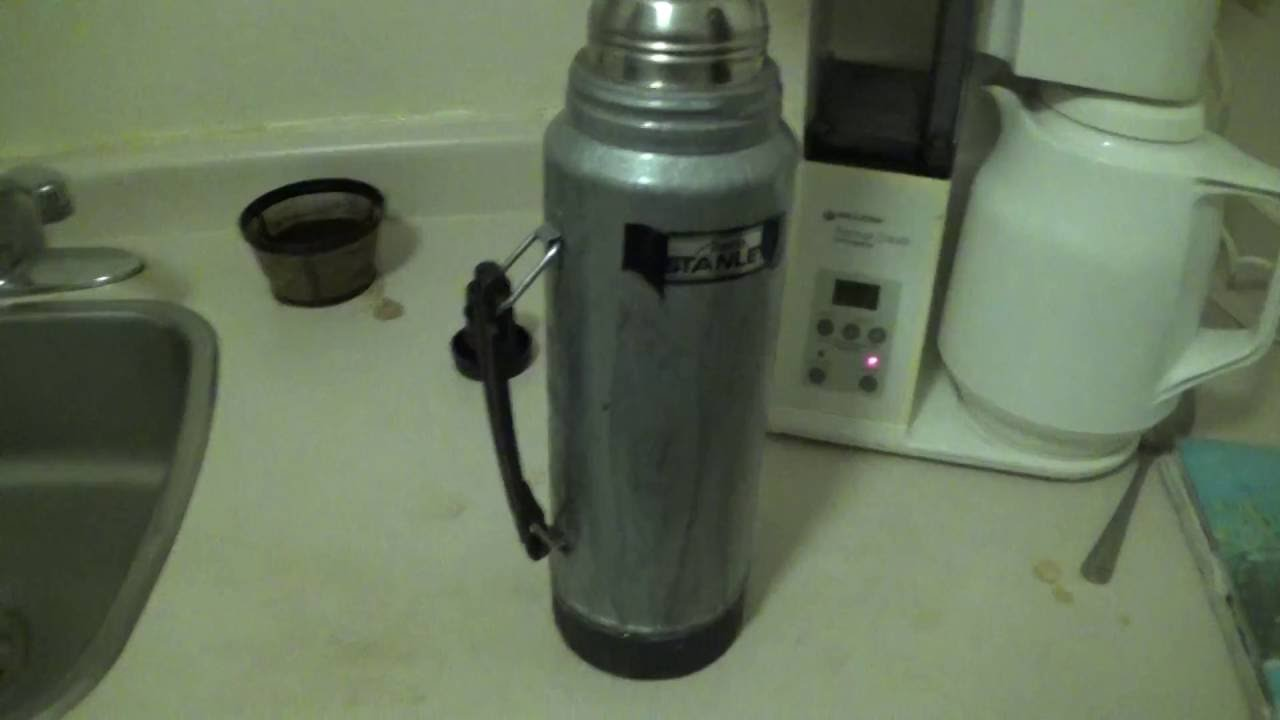 Vintage 1970 Aladdin Stanley Steel thermos No A-944Dh Ouart Made In ...
