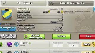 Entrem no meu clan de clash of clans