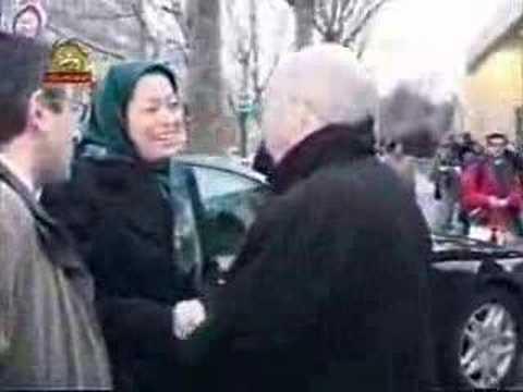 Maryam Rajavi Abbé Pierre