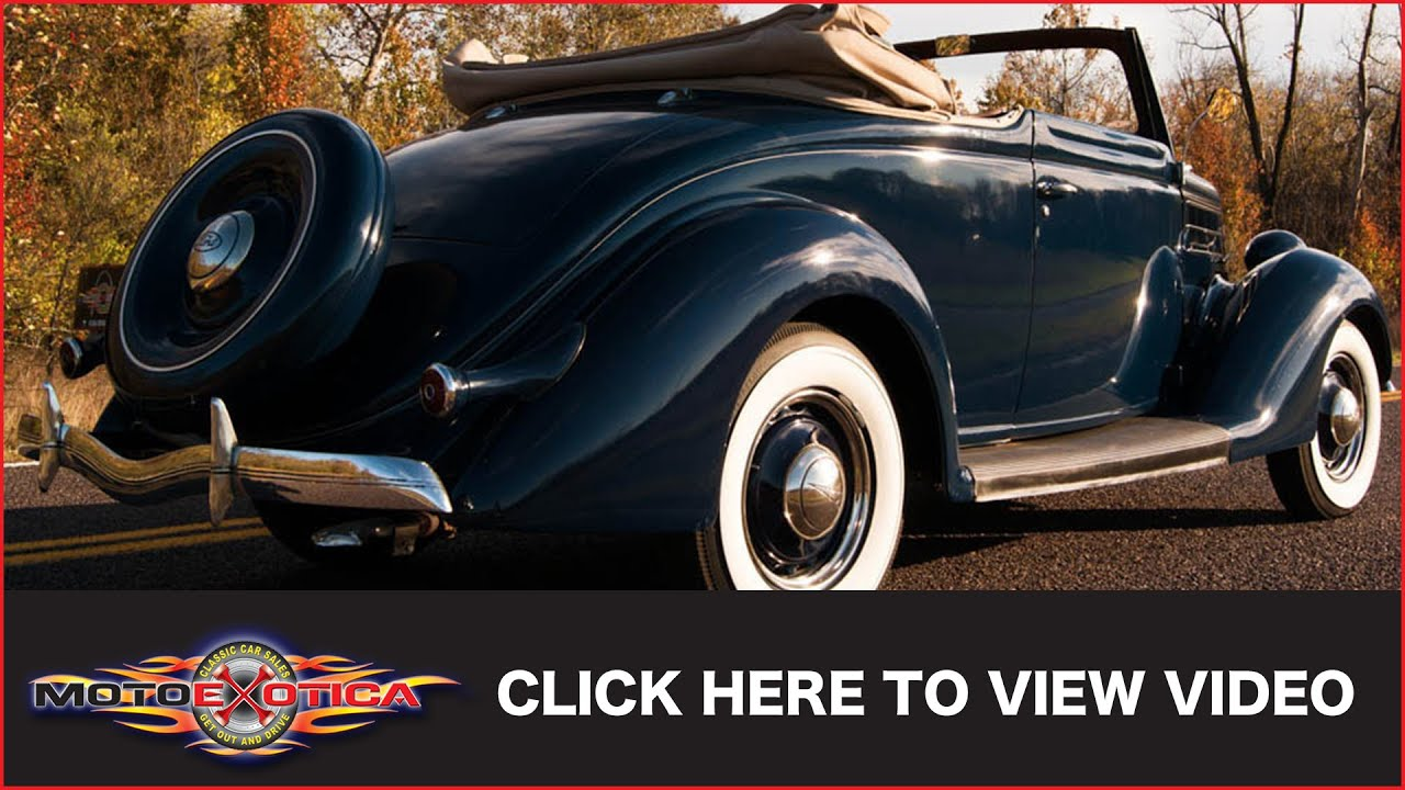 1936 Ford Cabriolet (SOLD)