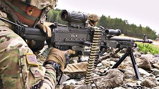Monstrously Powerful M240L Machine Gun Live-Fire
