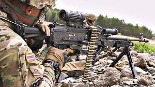 Monstrously Powerful M240L Machine Gun Live-Fire