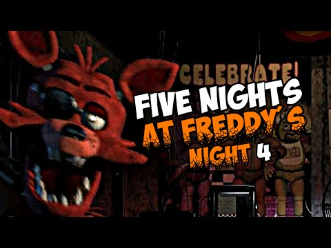 Five Nights At Freddy S 8 Foxy 4 Nacht Let S Play