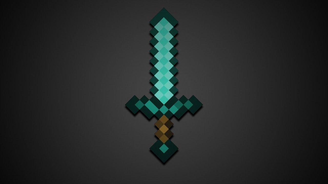 майнкрафт меч фото