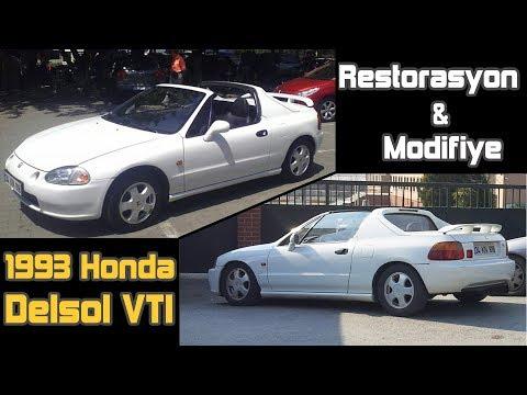 Honda Delsol VTI Restoration Project - Part 1