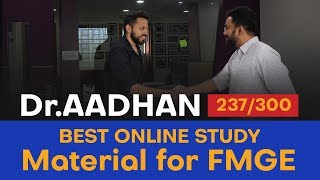 The best online study material for FMGE/MCI preparation by Topper of  FMGE June 2019 | DMA, Chennai