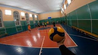 Волейбол от первого лица | 5vs6 | Новый сезон 10 серия | FIRST PERSON GAME VOLLEYBALL