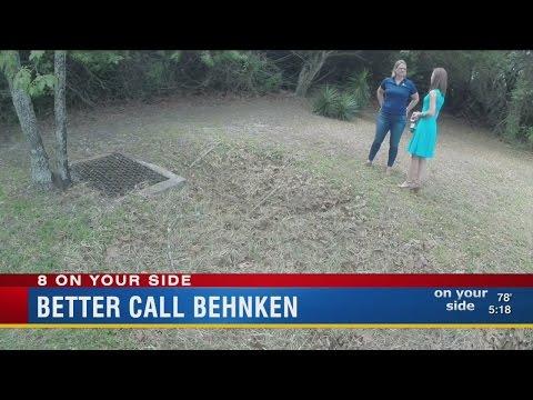 Tampa family in fear dealing with growing sinkhole in backyard