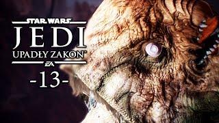 STAR WARS JEDI: UPADŁY ZAKON #13 - GORGARA - EPICKA WALKA Z BOSEM  POLSKI GAMEPLAY W 4K60