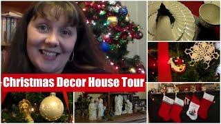 Christmas Decor House Tour- See the Trees!