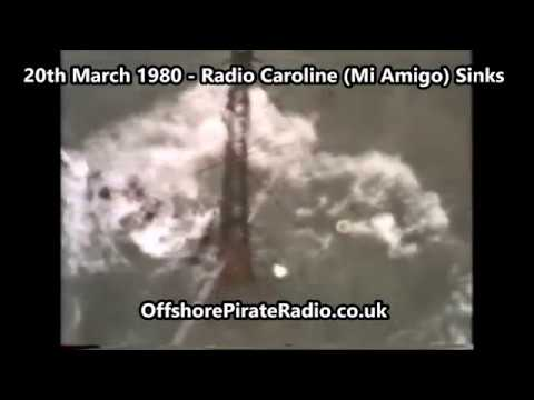 20th March 1980 - Radio Caroline (Mi Amigo) Sinks