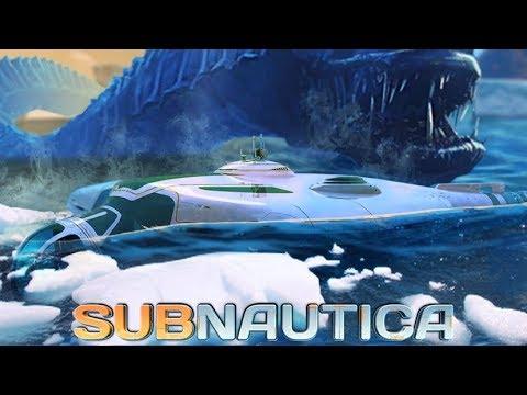 Subnautica - MAJOR GAME UPDATES, Ice Breaker DLC Sub Concept, Giant Mantle Worm & More - Gameplay