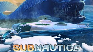 Subnautica - MAJOR GAME UPDATES Ice Breaker DLC Sub Concept Giant Mantle Worm  More - Gameplay