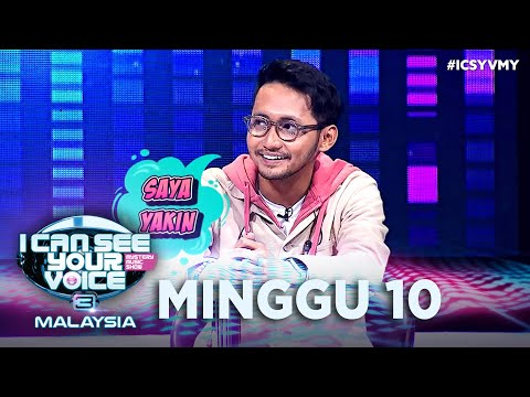 I Can See Your Voice Malaysia (Musim 3)- Minggu 10