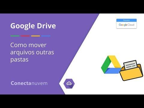 Como mover arquivos para outras pastas dentro do Google Drive