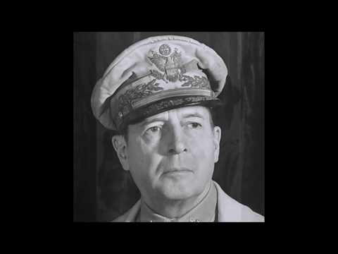 General Douglas MaCarthur:  Farewell address, given to Congress - Apr 19, 1951