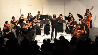 Symphonic Orchestra playing Vanguard Overture 10/13/2015