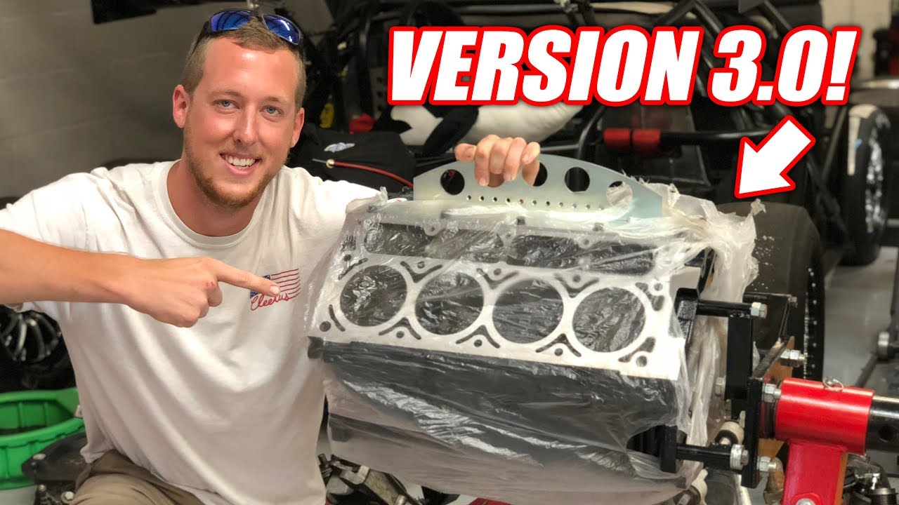 Introducing the Auction Corvette's VERSION 3.0 Junkyard (sorta) Engine! *Bald Eagle Alert*