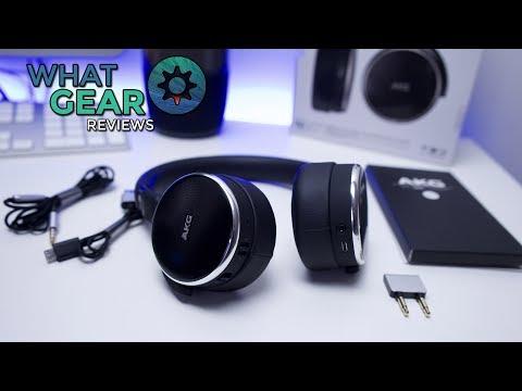 The Best Travel Headphones 2017 - AKG N60nc Wireless