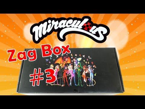 Miraculous Ladybug Toys Zag Box Subscription #3